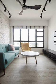Concrete coffee table  butterpaperstudio: Reno@Yishun Riverwalk - Final Photos of Living