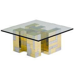 Cityscape Coffee Table by Paul Evans for Directional 1