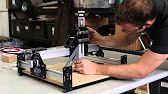 Shapeoko 2 Works Kit Tutorial - Desktop CNC 3D Carver Router by Inventables - YouTube