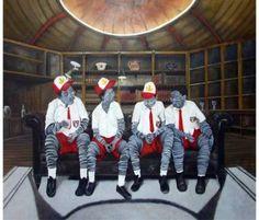 """Saatchi Art Artist sio jaya; Painting, """"Tunas Muda"""" #art"""