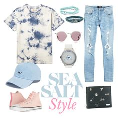 """Calm pastel but brave !"" by ganang-sapto-handoko on Polyvore featuring Converse, adidas, Paul Smith, AMIRI, Vineyard Vines, MIANSAI, Barton Perreira, men's fashion and menswear"