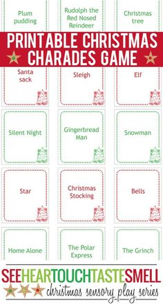 40+ free printable Christmas games for kids