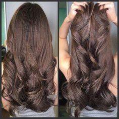 Chocolate! Luce con un cabello sano y brillante
