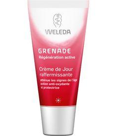 #MondeBio #Weleda Crème de jour raffermissante à la grenade Weleda : les merveilles anti-âge de la grenade dans une composition idéale. La crème AGIT sur les signes de l'âge, PROTEGE en enveloppant la peau et EMBELLIT celle-ci.  Plus d'infos sur  http://blog.mondebio.com/la-creme-de-jour-raffermissante-a-la-grenade-weleda-une-peau-radieuse-pour-rayonner-de-beaute/ Et retrouvez la crème sur…