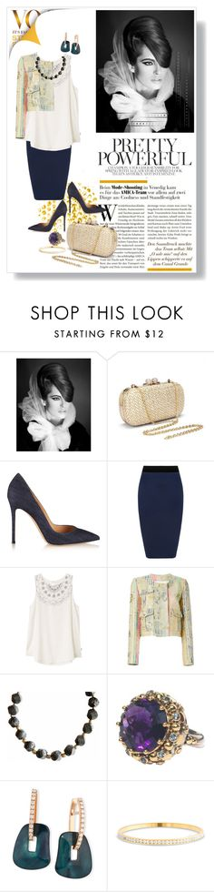 """""""Pretty Powerful"""" by captainsilly ❤ liked on Polyvore featuring ANNA, Gianvito Rossi, WearAll, RVCA, MSGM and Mattioli"""