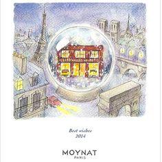 Moynat wishing a very Happy New Year