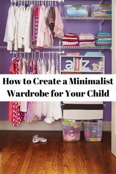 How to Create a Minimalist Wardrobe for Your Child (1)