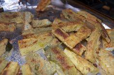 Parmesan Crusted Zucchini Sticks - 365 Days of Baking