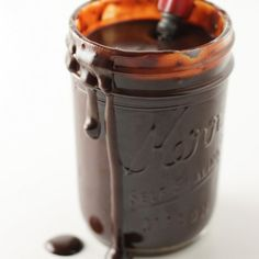 This is the best homemade hot fudge sauce! Drizzle over ice cream for a perfect hot fudge sundae!