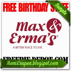 printable Max and Ermas coupons February 2015