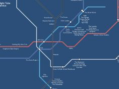 This is what the night Tub looks like with the bars Cool Bars In London, Map Logo, Loft Studio, Things To Do In London, Round House, Night Club, Destiny, Infographic, Tube