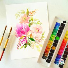Paper: CANSON MONTVAL | Paint: MISSION GOLD | Brush: PRINCETON NEPTUNE No. 8 & No. 10 Rounds | #calligrafikas