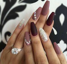 Nails #JeweledNails
