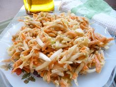 Walnut slaw with sweet & tangy dressing