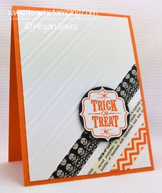 images diy stamped greeting cards | Easiest DIY Halloween Greeting Card Idea – With Video Tutorial