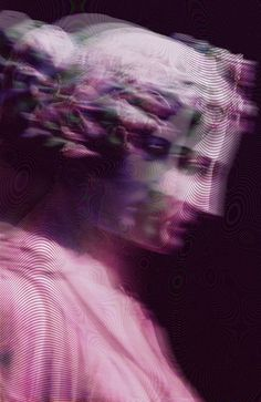 Glitch, VaporWave, CyberPunk, Pastel Goth, Neoclassical Sculpture