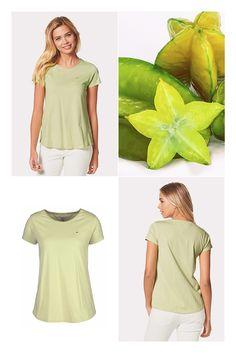 Das Basic für wunderbare Outfits. Das T-Shirt »Kinda« von Hilfiger Denim ist…