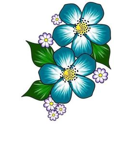 Discover thousands of images about Unhas Flower Patterns, Flower Designs, Rock Flowers, Purple Flowers, Fabric Paint Designs, Fabric Painting, Painting Patterns, Rock Art, Painted Rocks