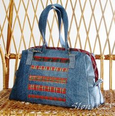 really sharp looking bag, with the trim...I just might need to make myself one, soon