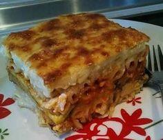 Greek Recipes, Vegan Recipes, The Kitchen Food Network, Cooking Time, Food Network Recipes, Lasagna, Recipies, Gluten Free, Pasta