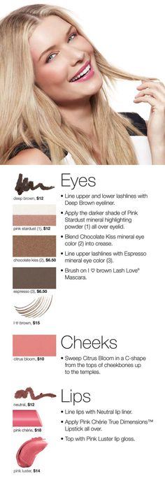 Perfectly paired neutrals accentuate features for an easy Everyday Beauty Look.