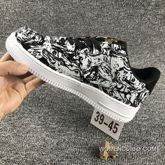 Nike Air Force 1 AF1 UPSTEP LOW BHM 920788 Zebra Shoes Online 6351475b9