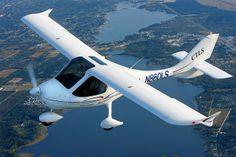Flight Design CTLS Lsa Aircraft, Light Sport Aircraft, Private Pilot, Airplane, Transportation, Aviation, Gliders, Cool Stuff, Planes