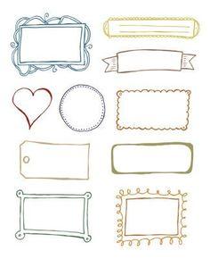 Etiquetas de regalos para imprimir | Fotos o Imágenes | Portadas para Facebook
