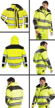 dc31aa1fc 23 Best High Visibility Jackets images in 2018