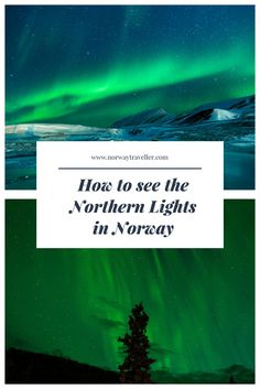 How to see the Northern Lights in Norway, chase the aurora across the Arctic with this guide on when, where and how to catch the Tricky Lady.