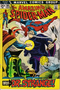 Amazing SpiderMan 1963 1st Series 109 June 1972 by ViewObscura, $9.00