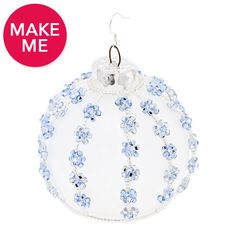 Snowy Skies Ornament | Fusion Beads Inspiration Gallery