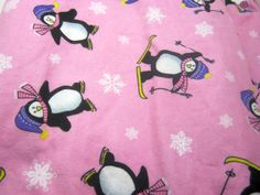 AIO or Regular One Size Penguins Skiing by Los Chiquitos- by loschiquitos on Etsy