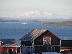 lake storsjon, sweden. Home sweet home!