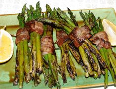 Bacon Wrapped Grilled Asparagus