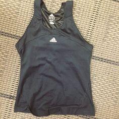 Reversible Adidas shirt Reversible dry fir Adidas shirt. Very soft and comfortable! No trades. PRICE FIRM Adidas Tops