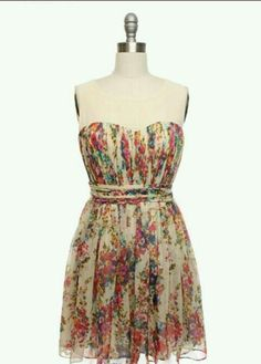 Cool summer dress