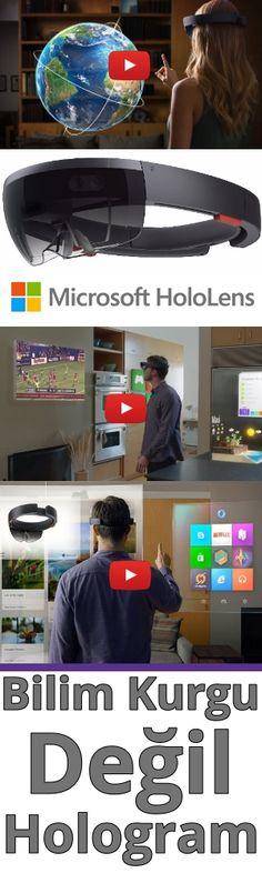 Microsoft HoloLens - Hologram görüntüler sunan giyilebilir teknoloji.