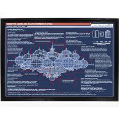Blueprint of TARDIS Interior