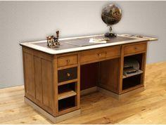 Cabane archivist desk by Cote Design