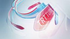 TRT TURK ID ANIMATION on Behance Branding Design, Logo Design, Graphic Design, News Design, Channel Branding, Cinema 4d Tutorial, Cool Themes, Motion Design, Motion Graphics