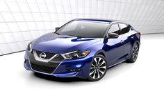 "2016 Nissan Maxima ""Four Door Sports Car"" Unveiled at NYIAS 2015"