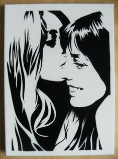 Jane Birkin Brigitte Bardot Stencil Graffiti On by domdoodle
