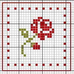 Thrilling Designing Your Own Cross Stitch Embroidery Patterns Ideas. Exhilarating Designing Your Own Cross Stitch Embroidery Patterns Ideas. Tiny Cross Stitch, Cross Stitch Flowers, Cross Stitch Charts, Cross Stitch Designs, Cross Stitch Rose Pattern, Cross Stitch Patterns Free Easy, Cross Stitching, Cross Stitch Embroidery, Embroidery Patterns