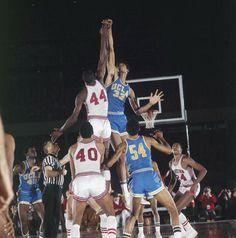 bdf00a79226 Lew Alcindor - UCLA vs. Elvin Hayes - Houston Basketball Shoes Kobe