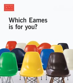 Shop the authentic Eames Molded Fiberglass Dowel-Leg Side Chair (DFSW) by Charles and Ray Eames for Herman Miller. Part of the Eames Shell Chair collection, it is a classic in midcentury modern design. Cool Furniture, Modern Furniture, Furniture Design, Buy Chair, Design Within Reach, Take A Seat, Mid Century Modern Design, Herman Miller, Eames