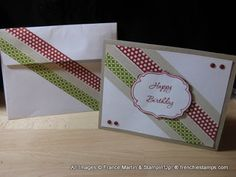 Stamp & Scrap with Frenchie: Washi Tape with Frenchie Team Part 2