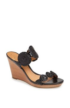 A simple wedge for summer. Jack Rogers 'Luccia' Sandal at Nordstrom's...for $177 tho? YIKES