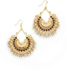 Blossom Box Onyx Chandelier Earrings