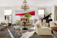 Vicente Wolf Designs a Prewar Manhattan Apartment: Living Room